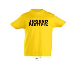 Kinder Rundhals T-Shirt, Motiv JF4